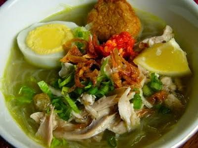 Resep Taoto Masakan khas Jawa Tengah