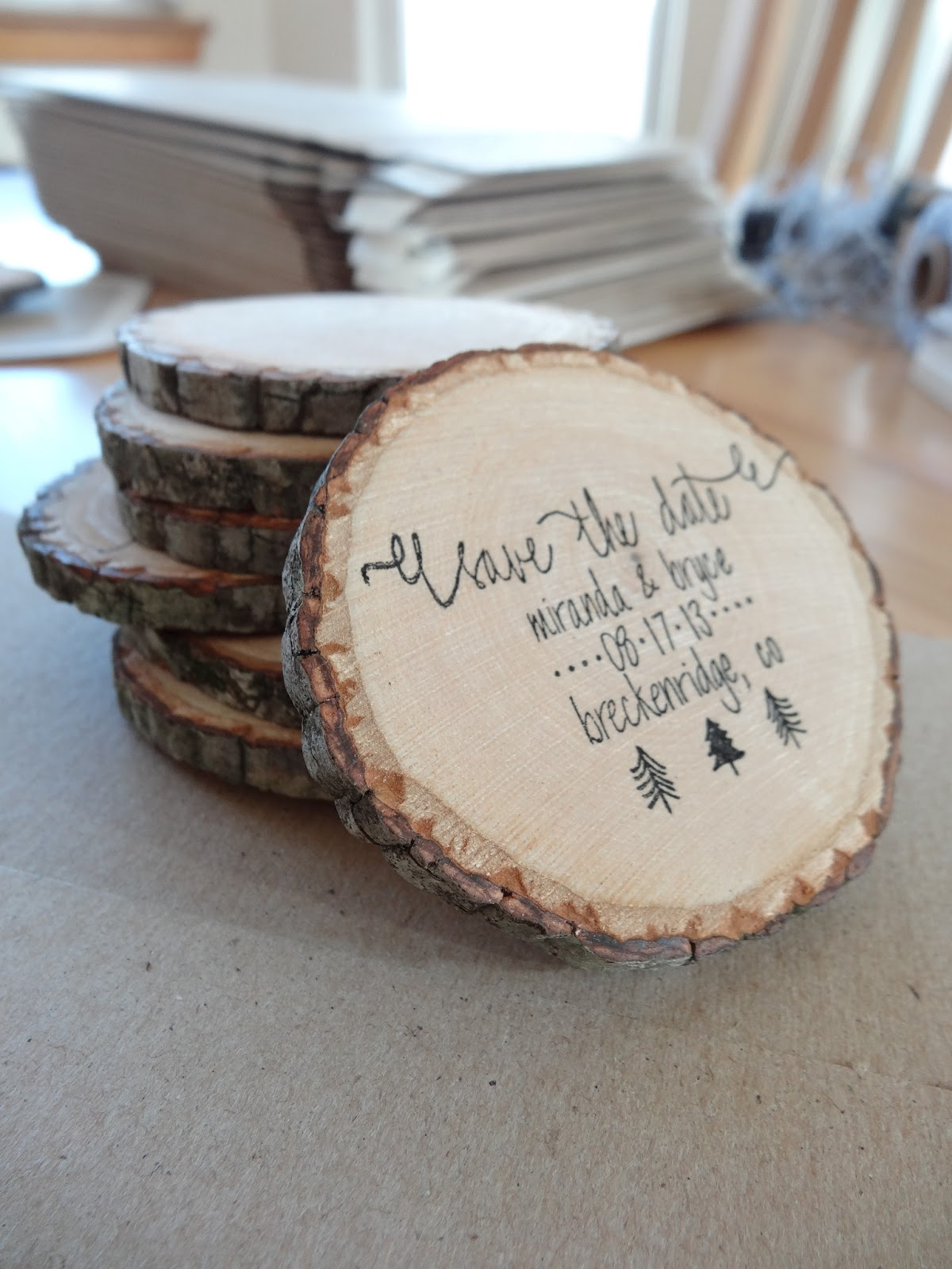 My Woodland Wedding Save the Dates when life gives you lemons ..