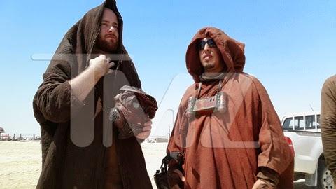 Moradores de Tattoine en las fotos del rodaje de Star Wars Ep. VII