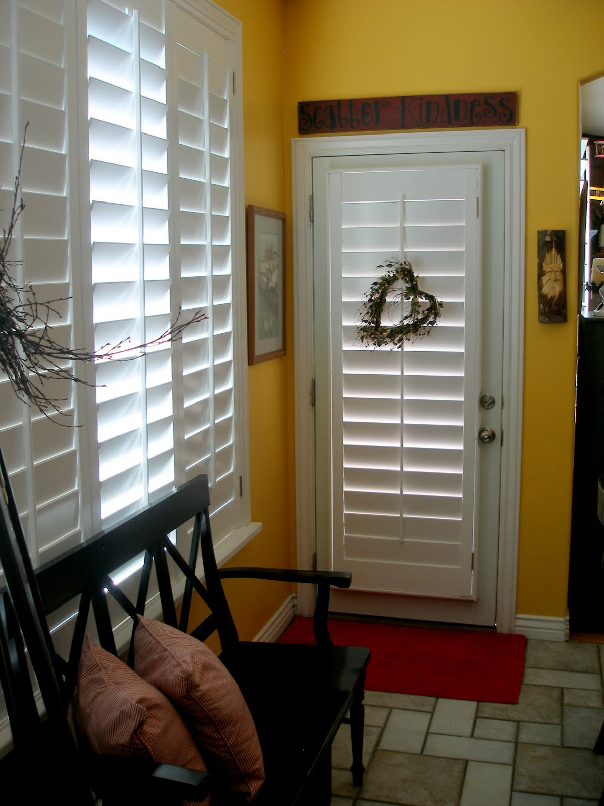 Home Made Simple Plantation Shutters At Last