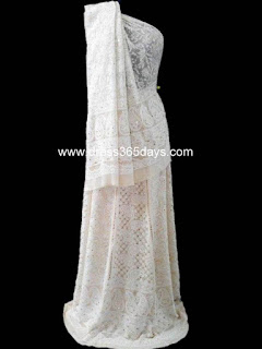 White Wedding Lehenga heavy embroidery
