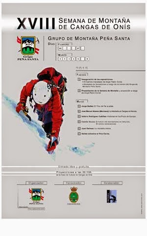 cartel XVIII Semana de la Montaña Cangas de Onís