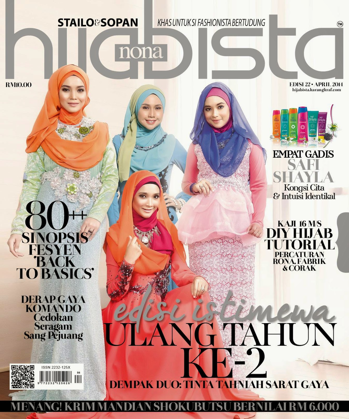 Featured Hijabista Magazine April 2014