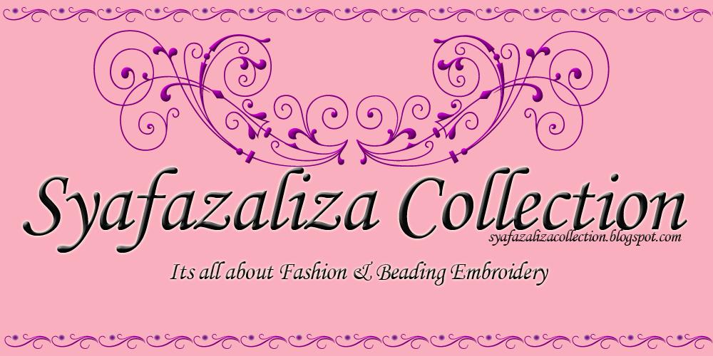Syafazaliza Collection (Jahitan Manik, Kraftangan, Bengkel/Kelas)