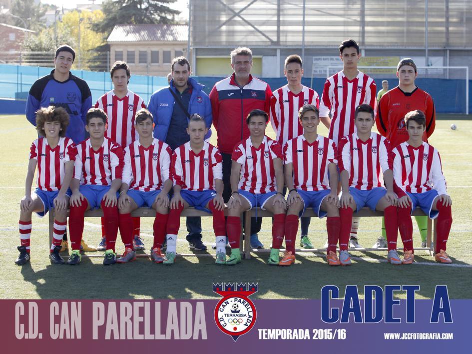 CADETE A. C.D.CAN PARELLADA 2015-16