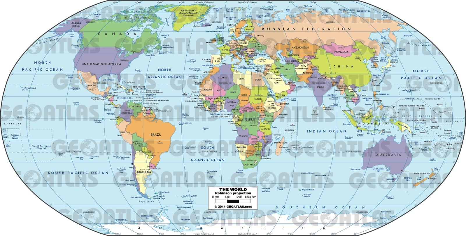 Geographically Correct World Map ~ CVLN RP