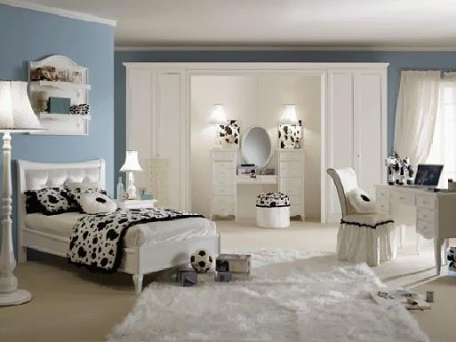 warna dinding kamar tidur anak perempuan