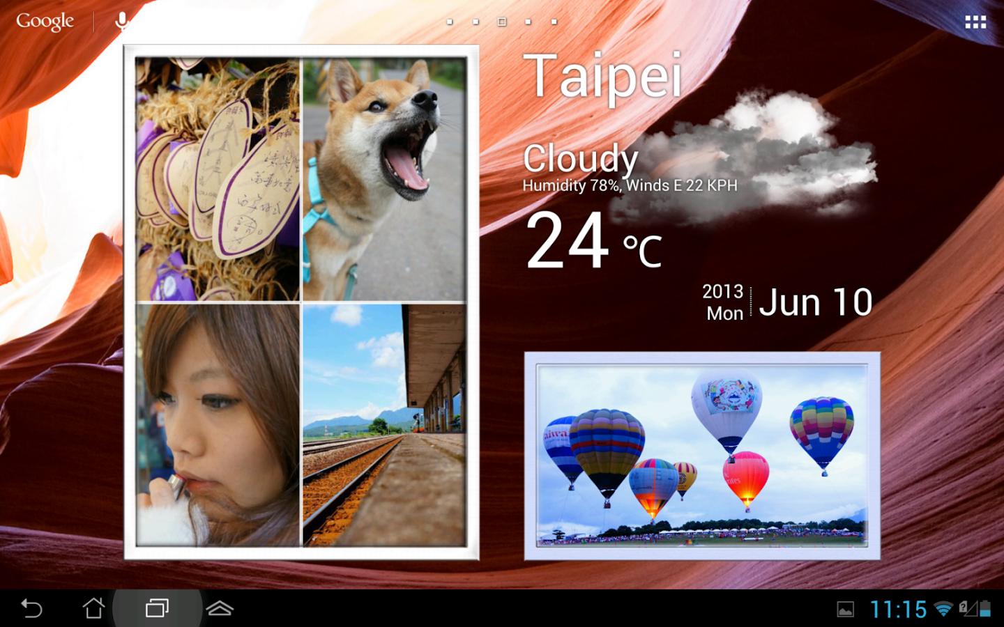 Animated Photo Frame Widget Apk