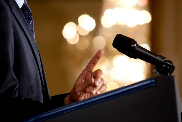 Man-Talking-On-The-Microphone-Image