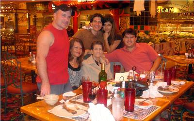 Magola Acosta Astrauskas, Rosangela Ferreira, Andrew Astrauskas, Ricardo Astrauskas y Monica Astrauskas