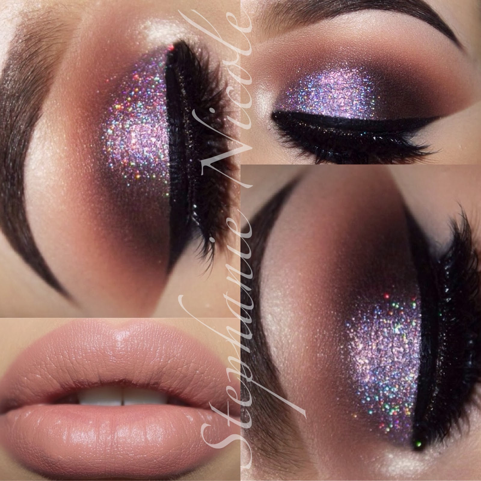 Makeup Stephanie Nicole Cocoa Glitter Too Faced