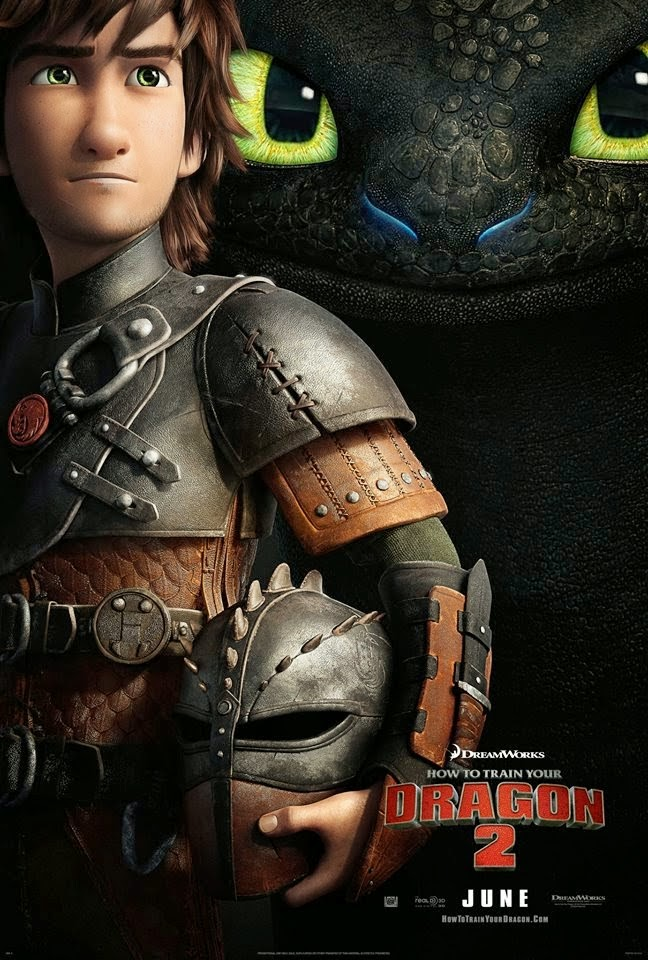 """HOW TO TRAIN YOUR DRAGON 2"" Animation Movie"