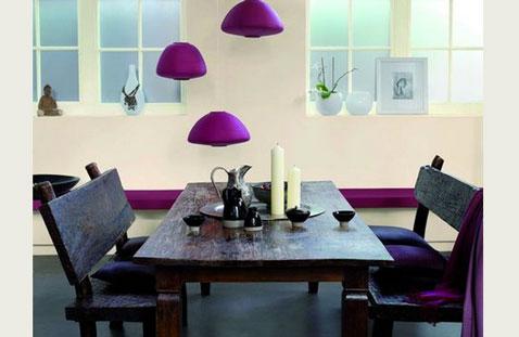 X casas decoracion x c mo usar el color fucsia color - Cocina blanca y fucsia ...