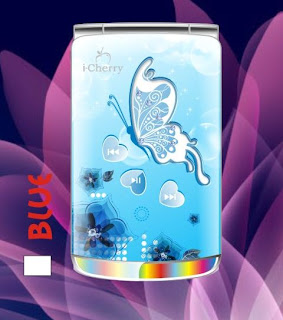 iCherry C20 Flip Butterfly, Handphone Flip Stylish