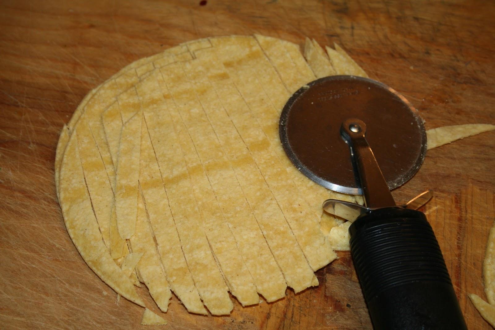 how to get corn tortillas crispy