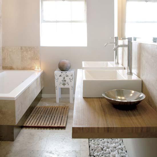 Beach House Bathrooms: Once.daily.chic: Beach House Bathrooms