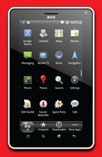 Tablet phone mito t500
