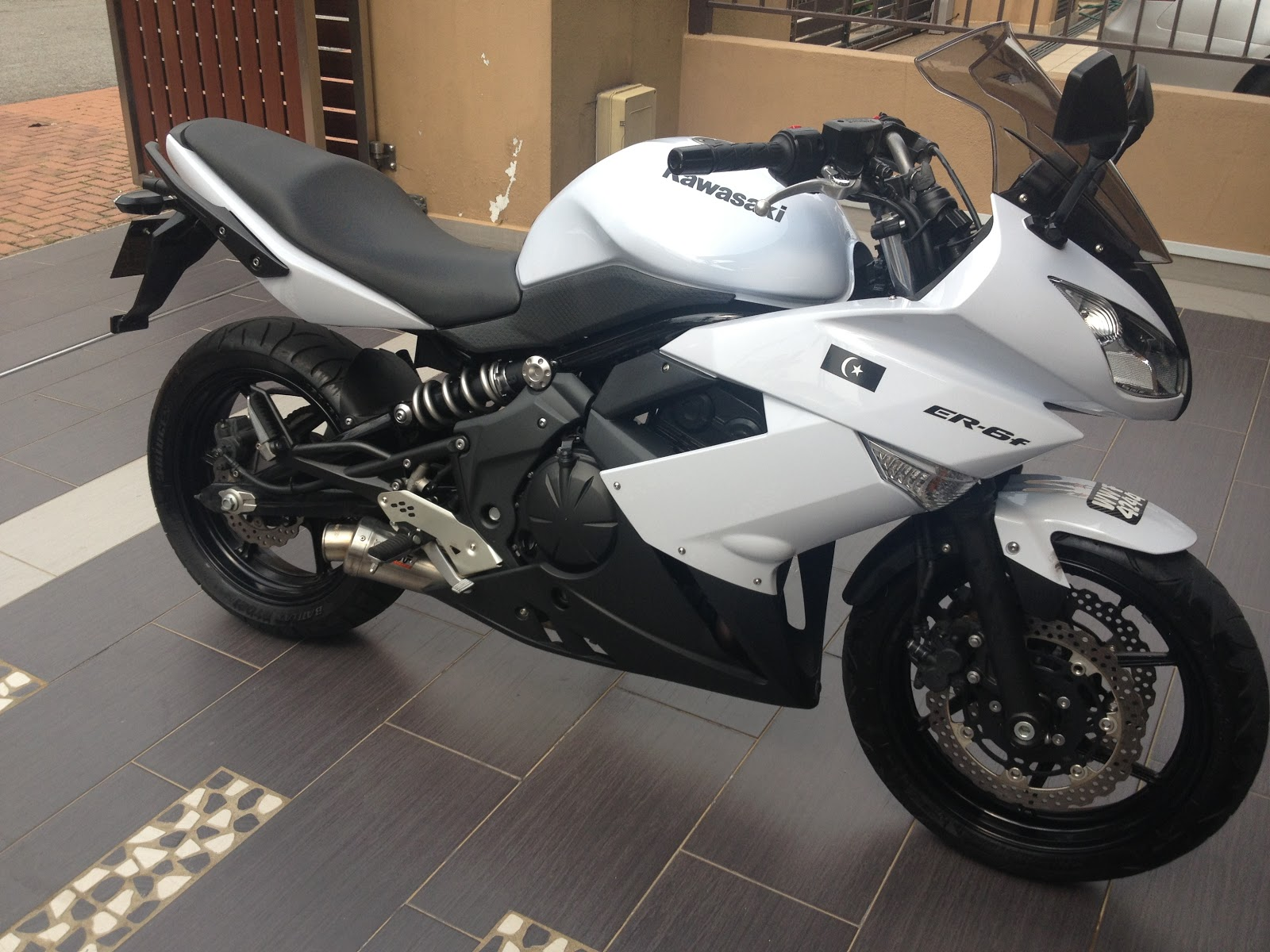 Super Great Sportbikes Kawasaki Er6f 2010 2012 Sold