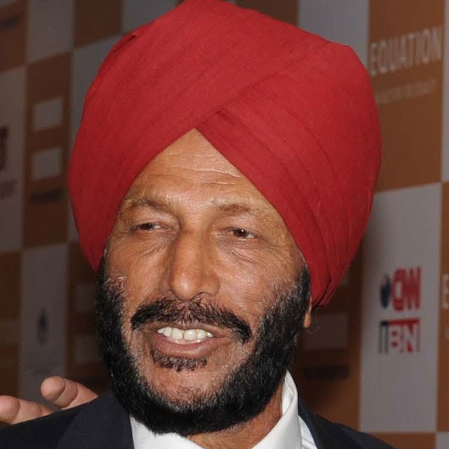 Legendary  Milkha Singh,running very fast again, this time at the box office