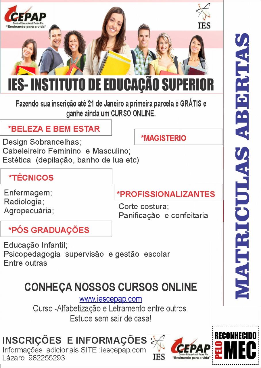 IES-INSTITUTO DE EDUCAÇÃO SUPERIOR
