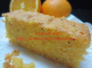 Orange Moist Cake