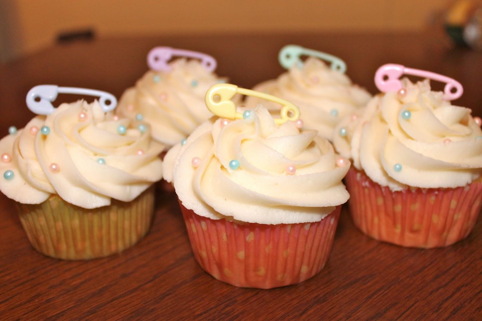 Gender Revealing Cupcakes