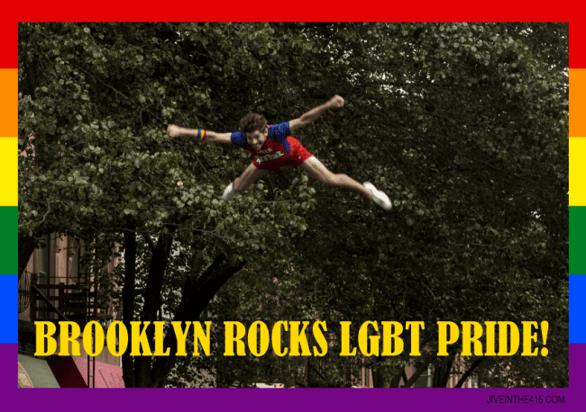 Brooklyn LGBT Gay Pride Parade June 14, 2014.