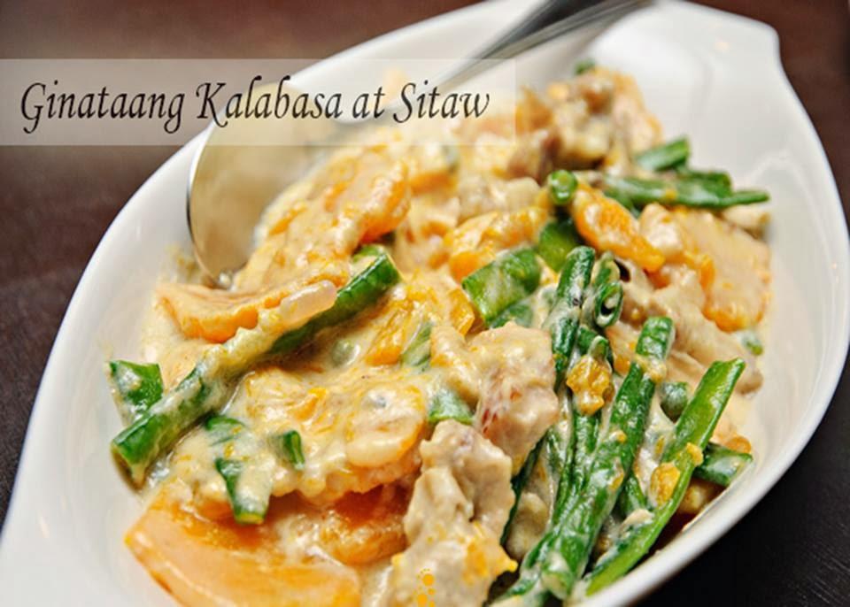 Nuezca Cafe: Ginataang Kalabasa at Sitaw