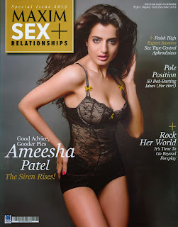 www.CelebTiger.com++Ameesha+Patels+Smoking+Hot+MAXIM+Photoshoot+IrmbiHp Indian Actress Ameesha Patels Smoking Hot MAXIM HQ Photos 2013