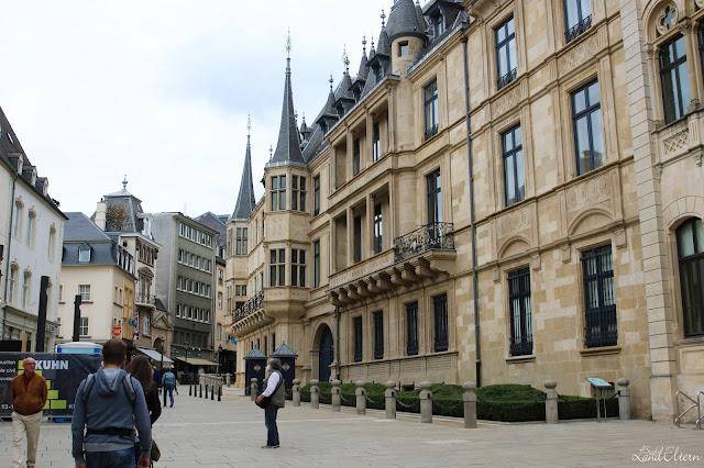 Stadtlandeltern - Luxembourg - Stadt - Großherzogliches Palais