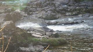 waterfall at auchencruive