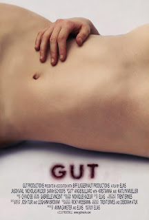 Gut movie poster, 2012 horror film, directed by Elias