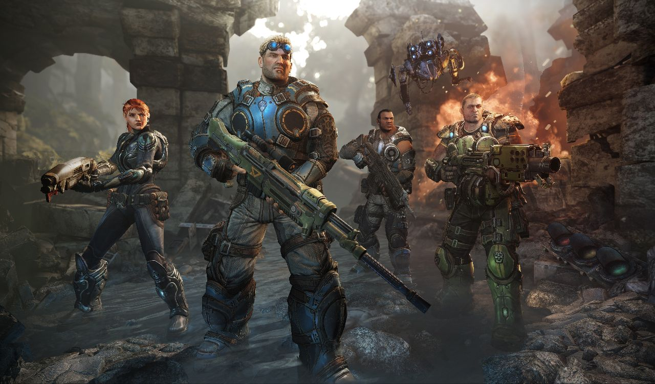 Buscar  Epic Games Gears Of War Gears Of War Judgment Gr  Fico