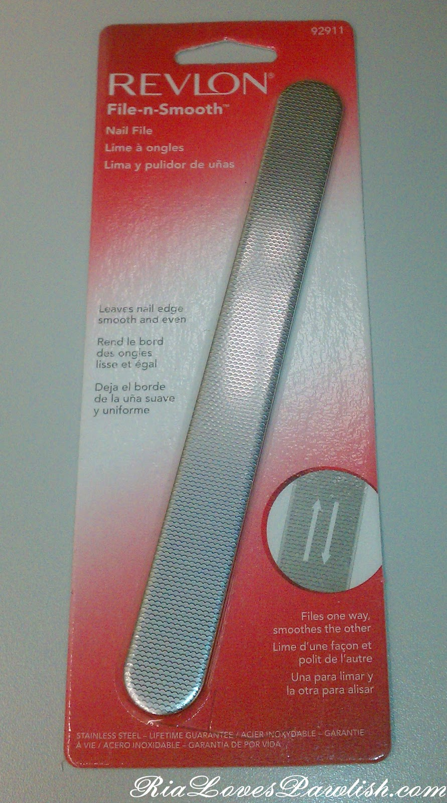 Ria Loves Pawlish: Revlon File-n-Smooth Nail File