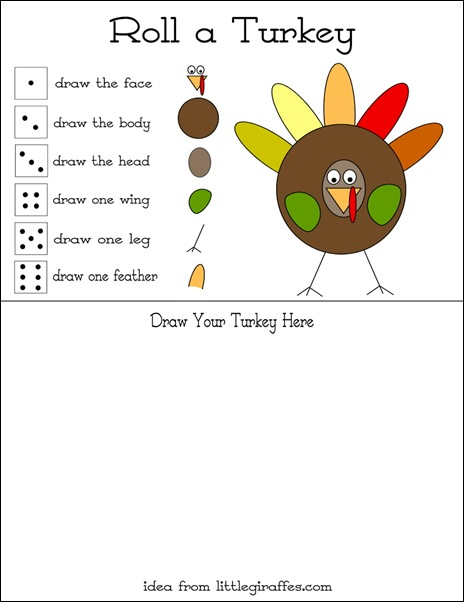 Play kid friendly thanksgiving decoration and game ideas