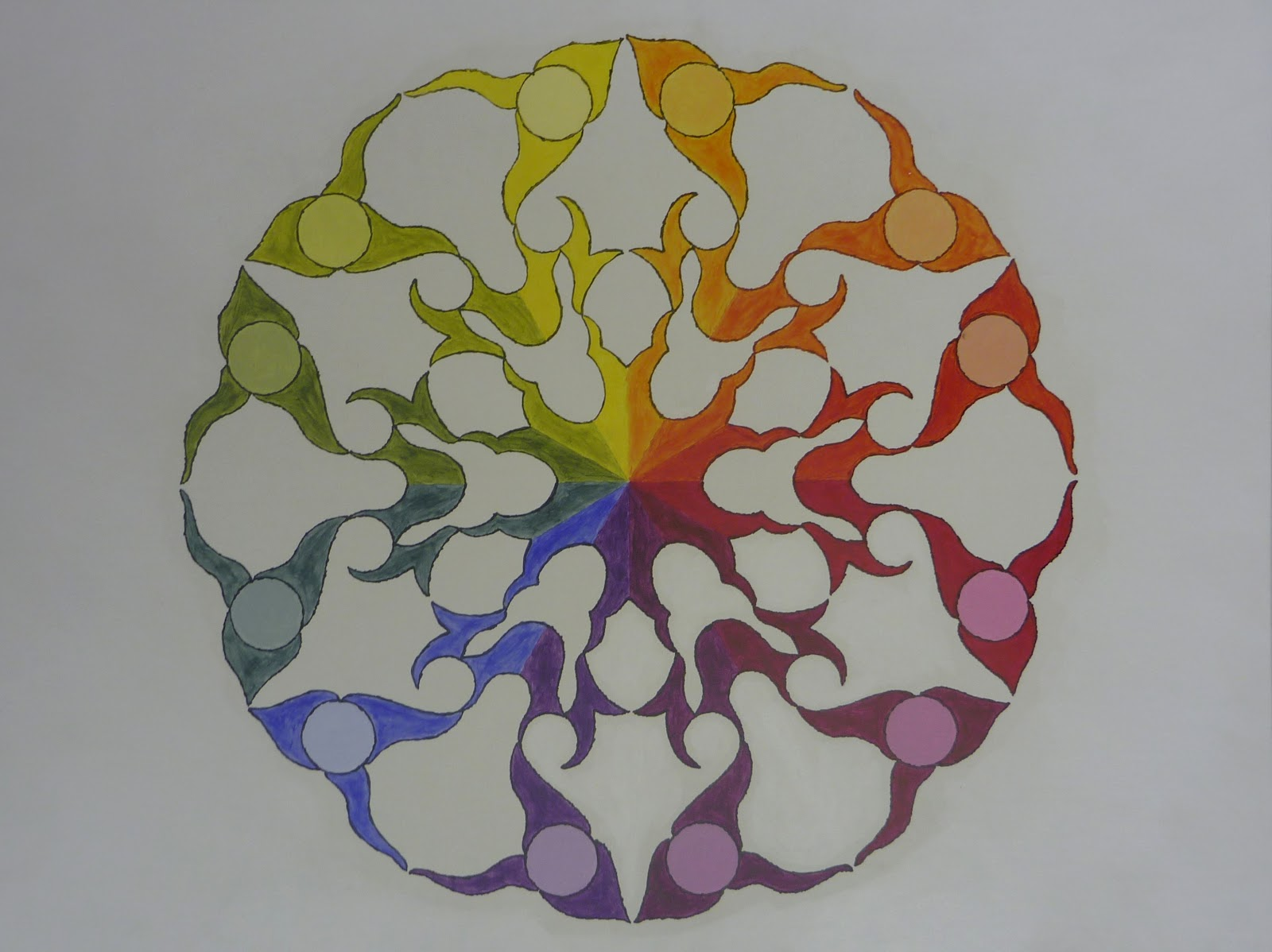 Color Wheel Mandalas 2008
