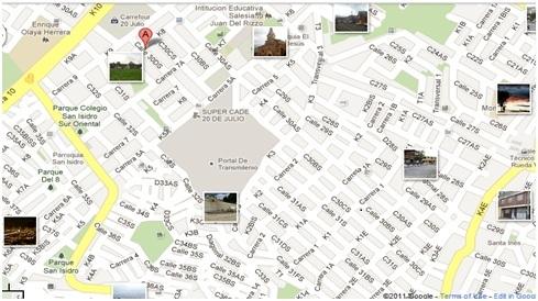 La estetica y el arte barrio 20 de julio bogot for Barrio ciudad jardin sur bogota