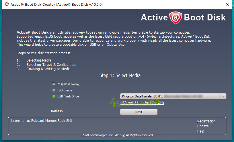 Active disk