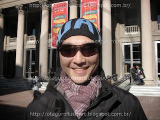 Rodrigo Otaguro - imagem de arquivo pessoal