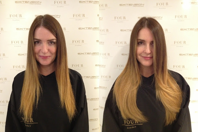 extension+professional+hair+before+after+front