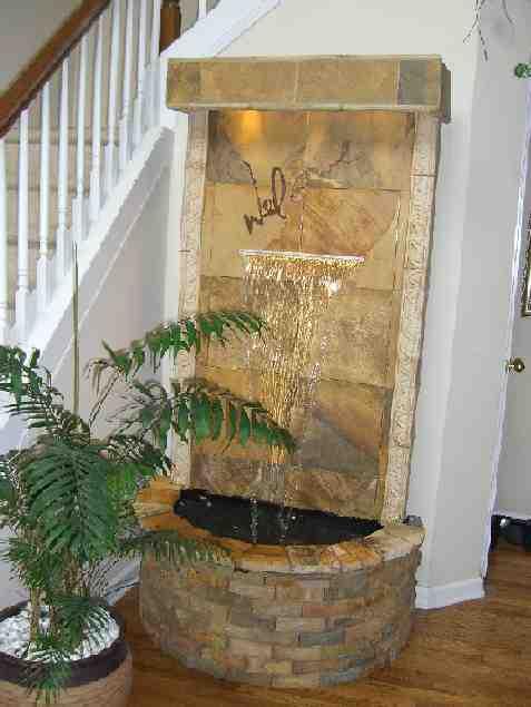 Homes Modern Fountain Designs Ideas.