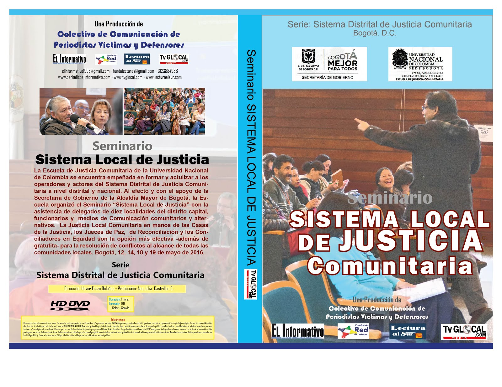 Serie de videos: Justicia Local Comunitaria- Bogotá