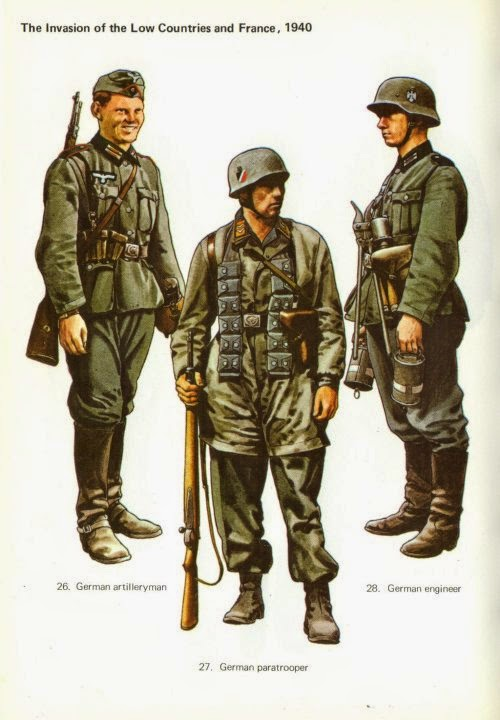 Early War German Fallschirmjäger (German Paratroopers) Uniforms Pictures 1