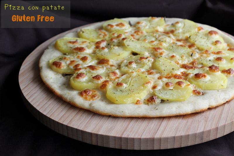 pizza con le patate senza glutine