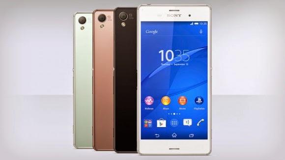 Best Smartphone 2015: Sony Xperia Z3