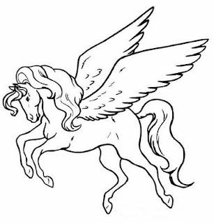 a desenhar Cavalos bonitos e treinados do sitio colorir