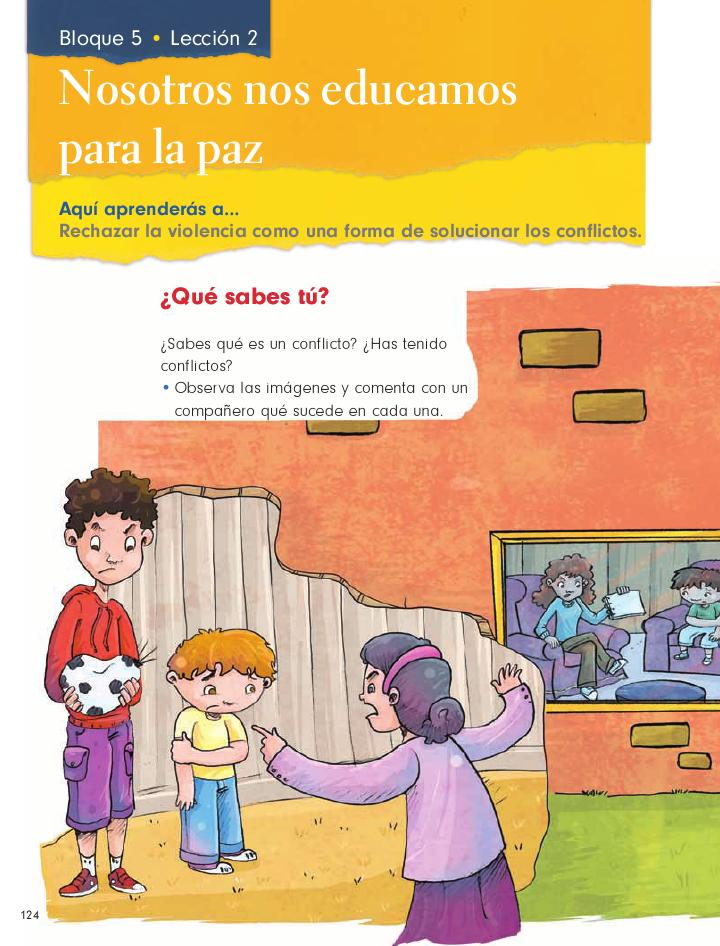Nosotros nos educamos para la paz formación cívica y ética 2do bloque 5/2014-2015