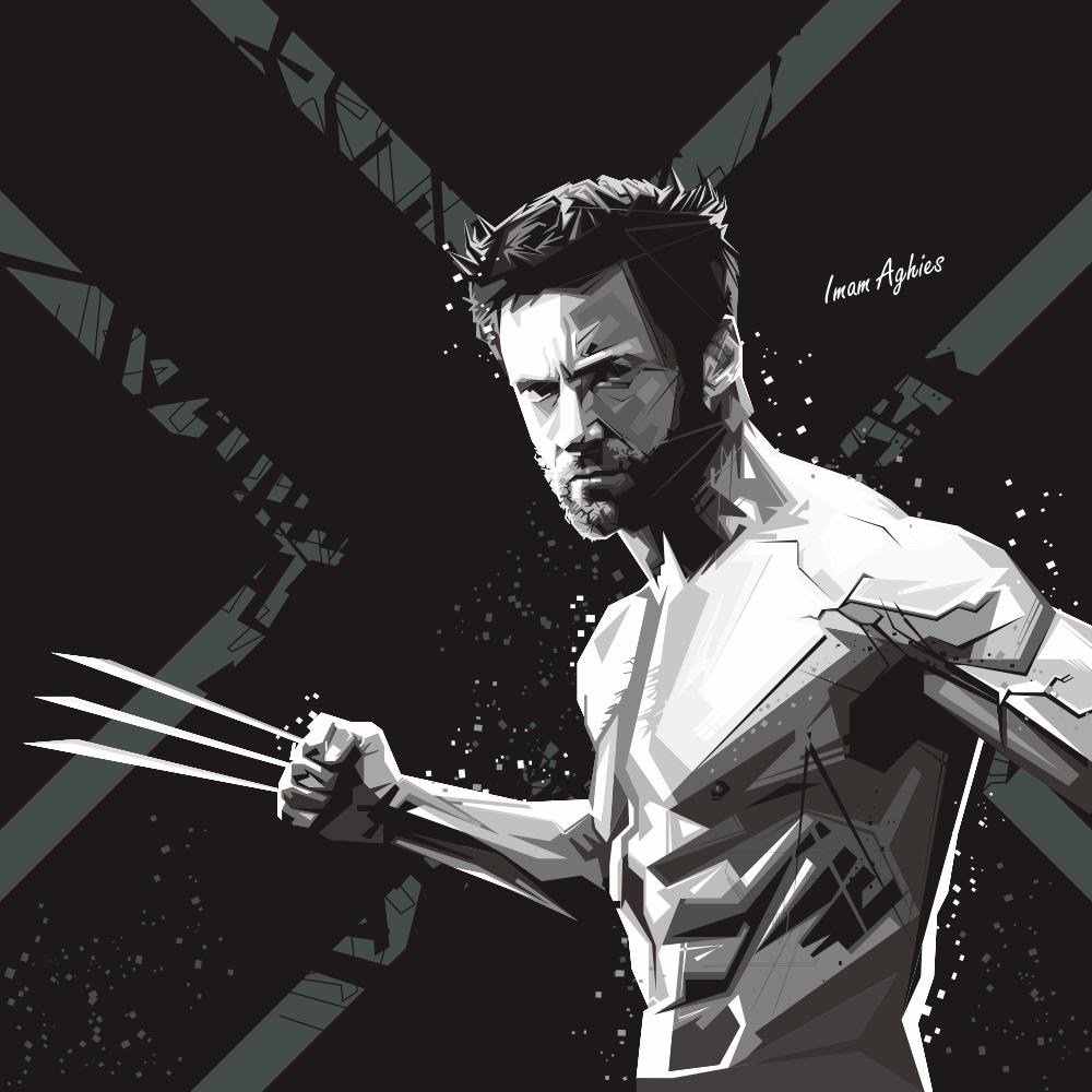Vector WPAP X-Men Wolverine