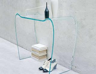 Arredo in consolle da ingresso moderne ed antiche for Consolle in vetro