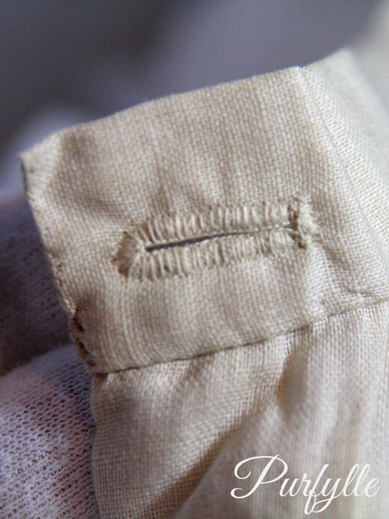 buttonhole 1927 underwear